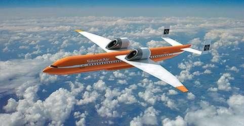 Des moteurs au-dessus de l'avion plutôt que dessous