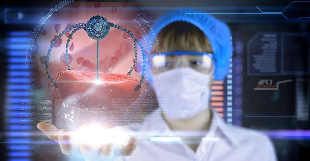 Quelles sont les perspectives des nanosciences ? Quelle sera la médecine du futur ? © Pavel Chagochkin, Shutterstock