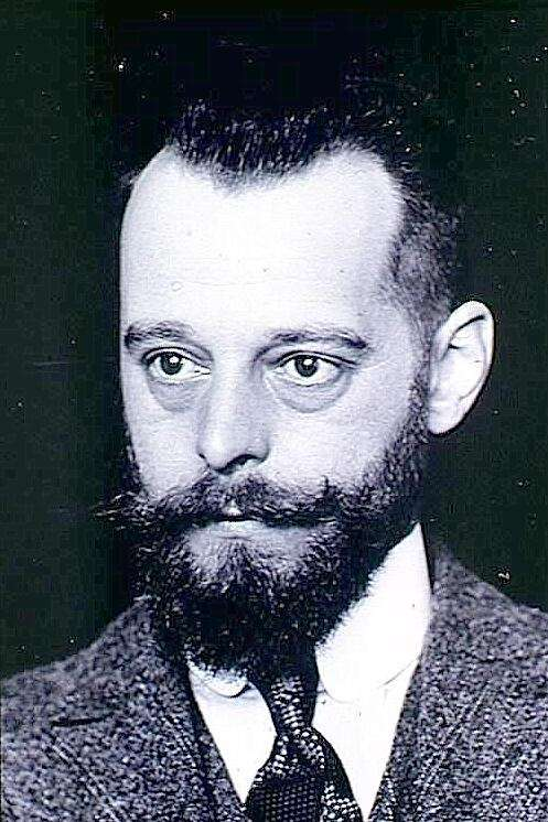 Portrait de Félix d'Hérelle vers 1905, photothèque de l'Institut Pasteur. © Wikipedia, domaine public.