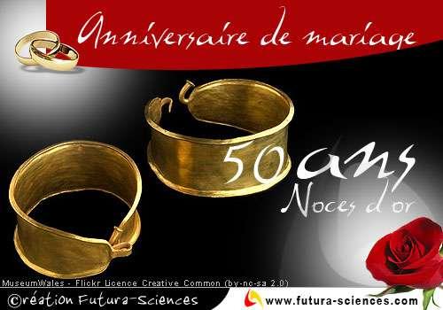 Noces d'or : 50 ans
