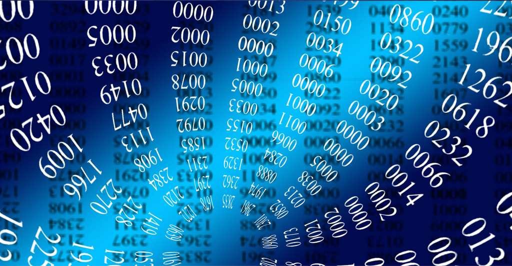 Le monde des nombres. © Geralt, Pixabay