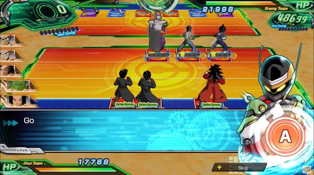 Super Dragon Ball Heroes World Mission est un jeu de cartes stratégique qui vous occupera plusieurs dizaines d'heures. © Bandai Namco