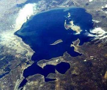 La mer d'Aral en 1985. © Nasa, DP