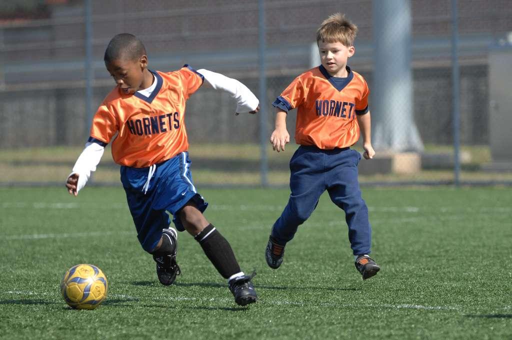 Les médecins recommandent la pratique d'une activité sportive régulière pour les enfants. ©USAG-Humphreys , Flickr, cc by 2.0
