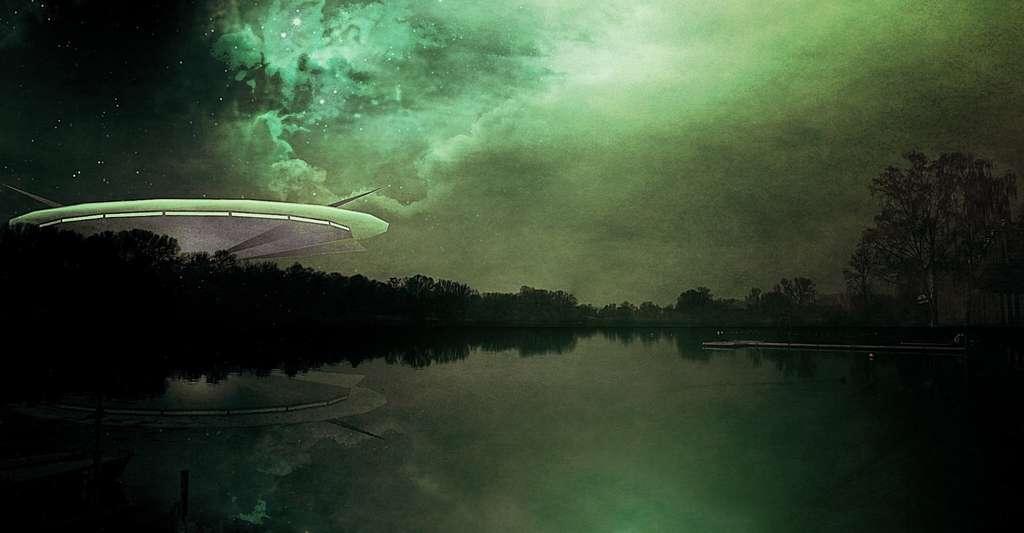 Téléporter les propriétés physiques d'un objet macroscopique comme dans certains films de science-fiction grâce à l'intrication? «Nous en sommes encore loin», reconnaissent les chercheurs. © tombud, Pixabay, CC0 Creative Commons
