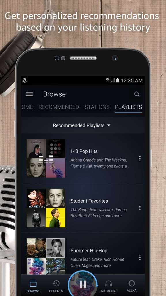 Amazon Music Unlimited propose un catalogue de plus de 50 millions de titres. © Amazon Inc.