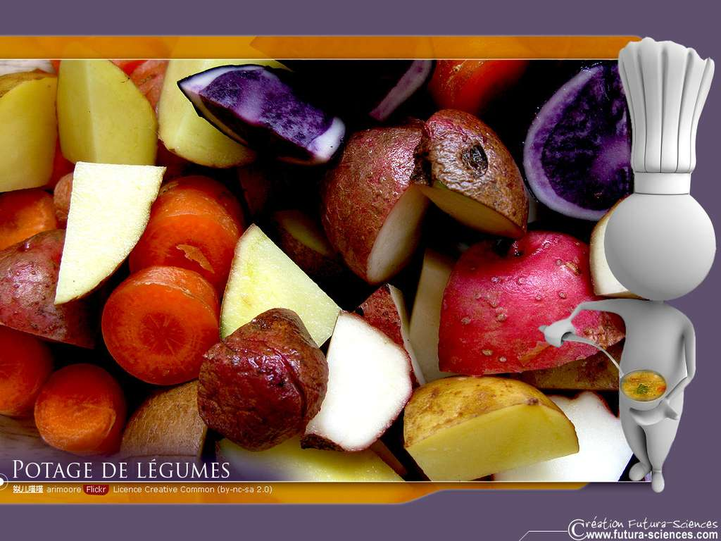 Potage de légumes