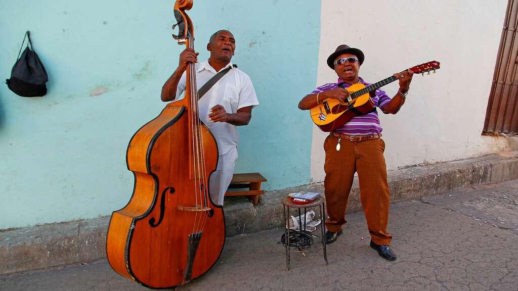 À Santiago, comme un peu partout à Cuba, la musique est vivante. © Antoine, DR