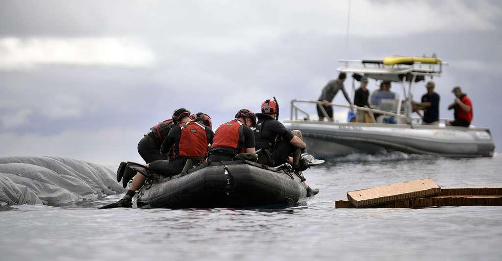En savoir plus sur le sauvetage en mer. © The National Guard, Wikimedia Commons, CC by 2.0