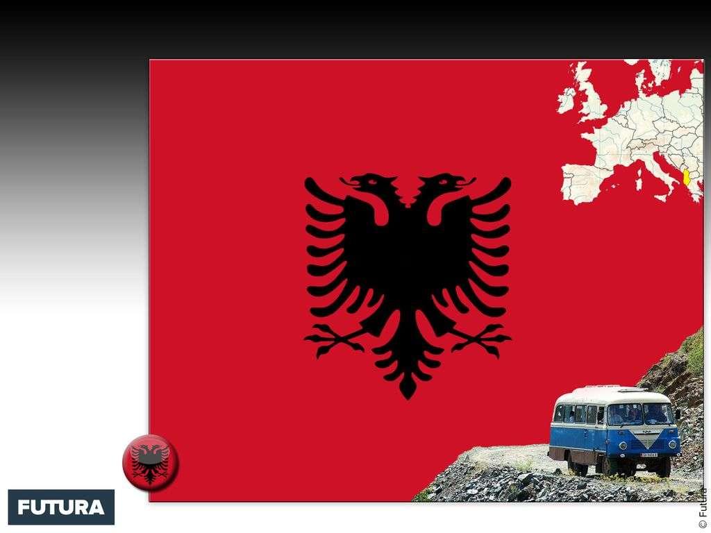 Drapeau : Albanie