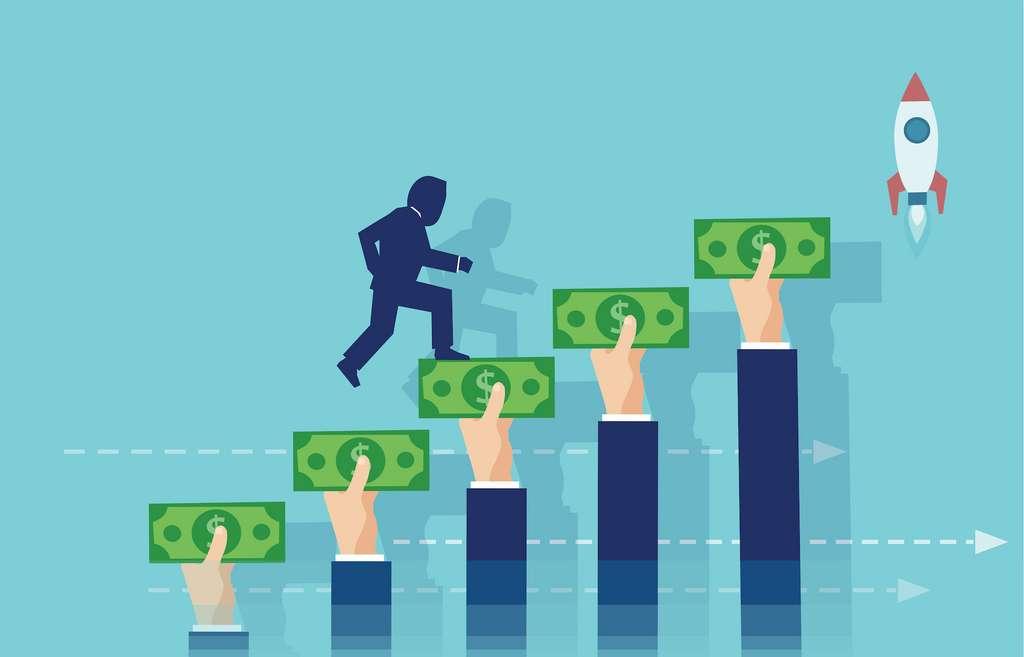 À peine un tiers des projets sur Kickstarter atteignent leur objectif de financement. © Feodora, Adobe Stock