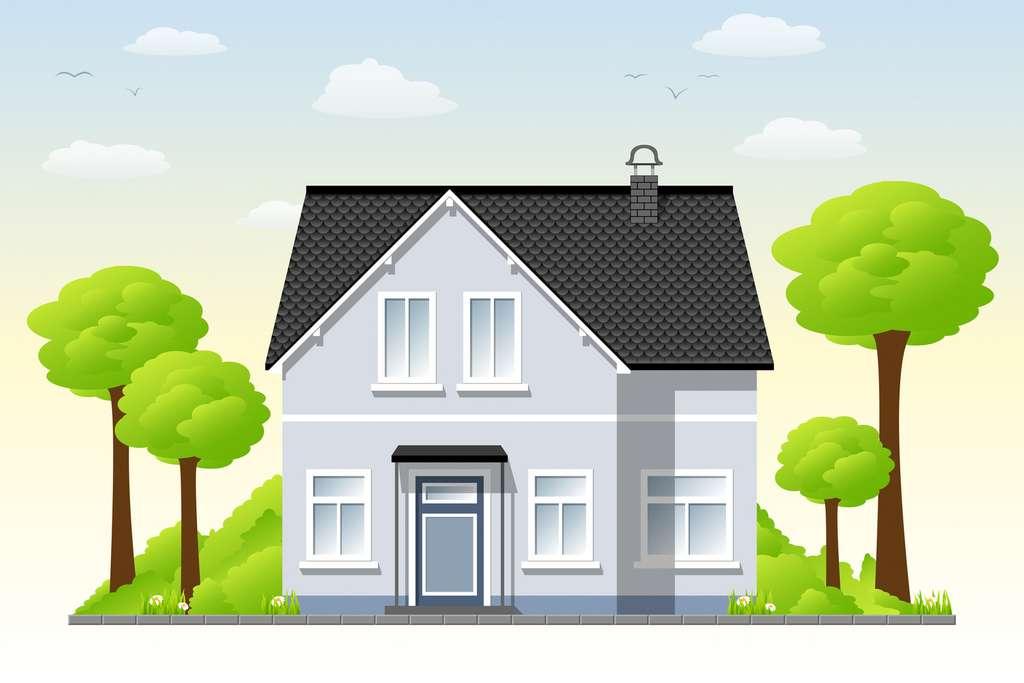Les ménages habitant une maison individuelle consomment deux fois plus d'énergie que ceux habitant en immeuble. © GabiWolf, Fotolia