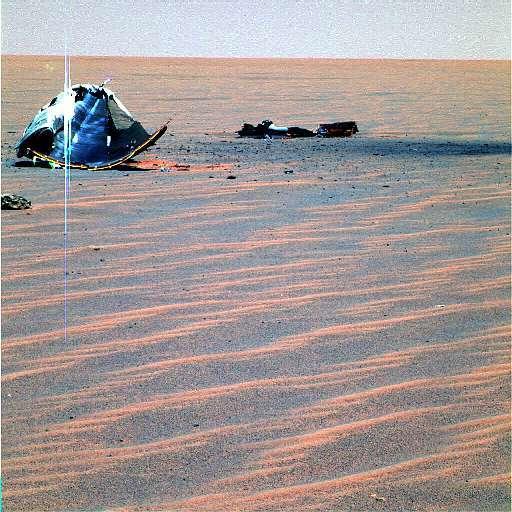 Epave martienne