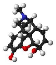 Découverte en 1804, la morphine est un dérivé de l'opium utilisé comme analgésique. Cependant, elle ne peut pas être utilisée à outrance, car elle induit une dépendance chez le patient. Elle est d'ailleurs listée comme stupéfiant au niveau international. © Wikimedia Commons, DP