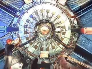 Le détecteur BaBar (Crédit : SLAC).