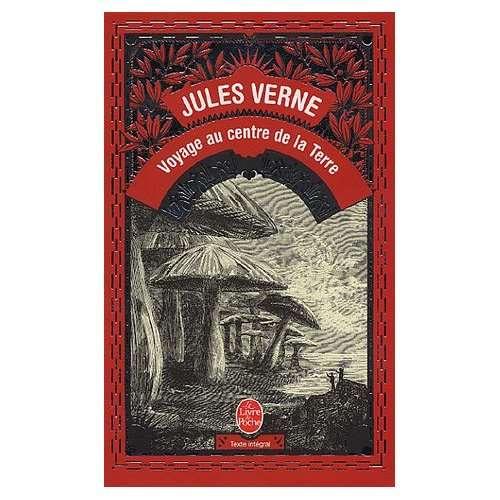 Le roman Voyage au centre de la Terre de Jules Verne. © LGF, Livre de Poche