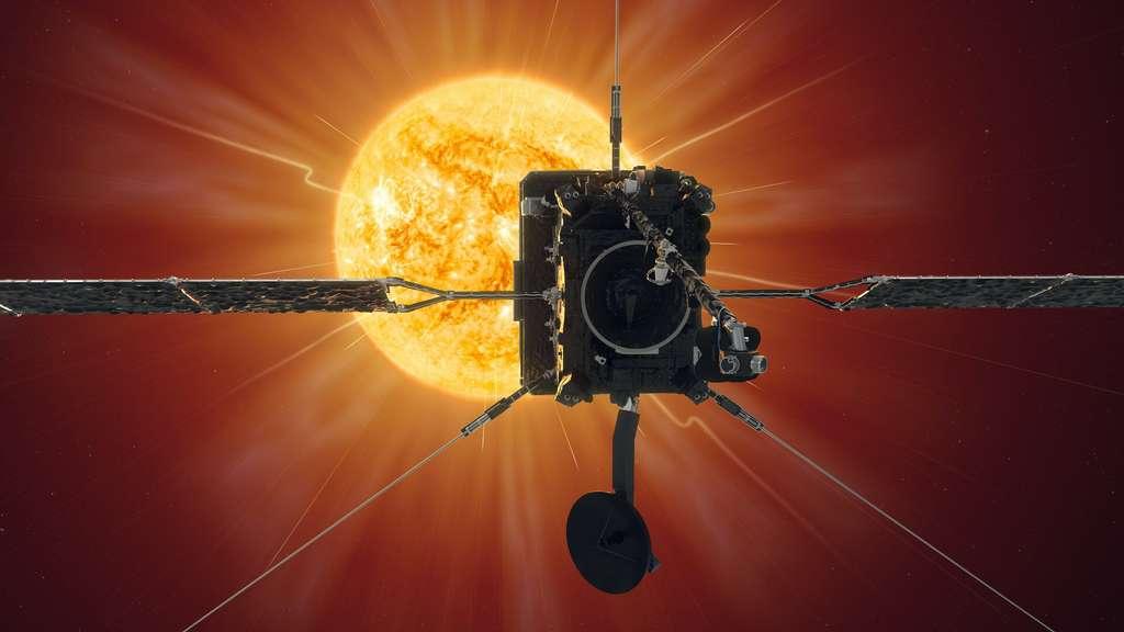 La sonde Solar Orbiter s'approchera à moins de 42 millions de kilomètres de la surface du Soleil. © ESA