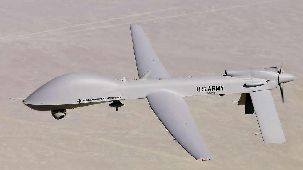 Le drone de combat MQ-1C Grey Eagle