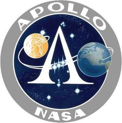 Emblème du programme Apollo. © Nasa