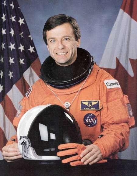 Robert Thirsk, astronaute canadien, vient de passer six mois dans l'espace. © Agence spatiale canadienne