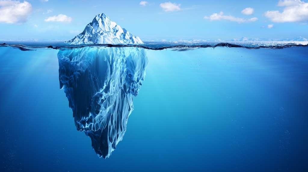 La libération d'icebergs dans l'océan n'est pas le principal mécanisme de fonte des glaces en Arctique. © Romolo Tavani, Adobe Stock