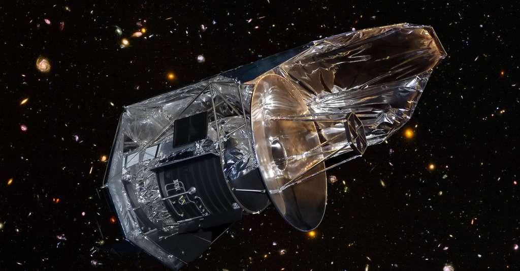 Maquette du satellite Herschel. © Pline - CC BY-SA 3.0