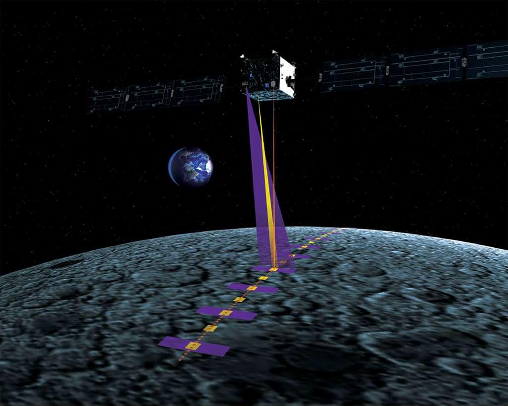 L'Europe s'est déjà apparochée de la Lune. En novembre 2003, l'Esa a lancé la sonde Smart-1 qui s'est mise en orbite autour de notre satellite en novembre 2004 et y est restée jusqu'à la fin de sa mission, en septembre 2006. Elle emportait des instruments scientifiques mais l'objectif principal de la mission était de valider plusieurs technologies, comme un moteur ionique, un système de navigation automatique et un autre de communication par laser. © Esa