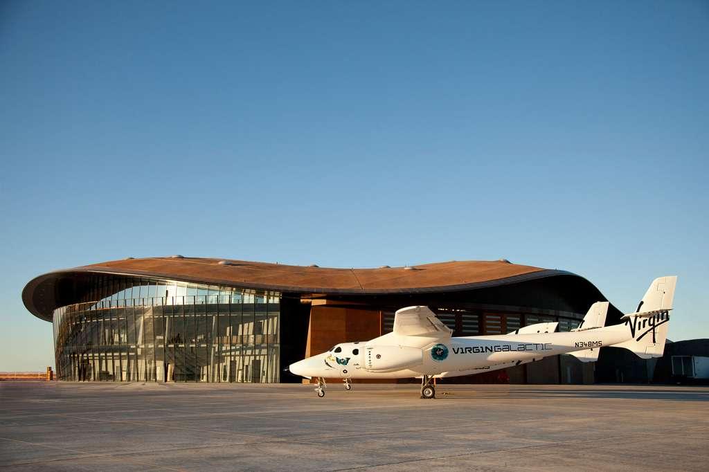 Malgré des débuts prometteurs, le développement du SpaceShipTwo est freiné par des retards et la perte en vol d'un des modèles d'essai. L'ouverture du service commercial est maintenant prévue à l'horizon 2020. © Virgin Galactic