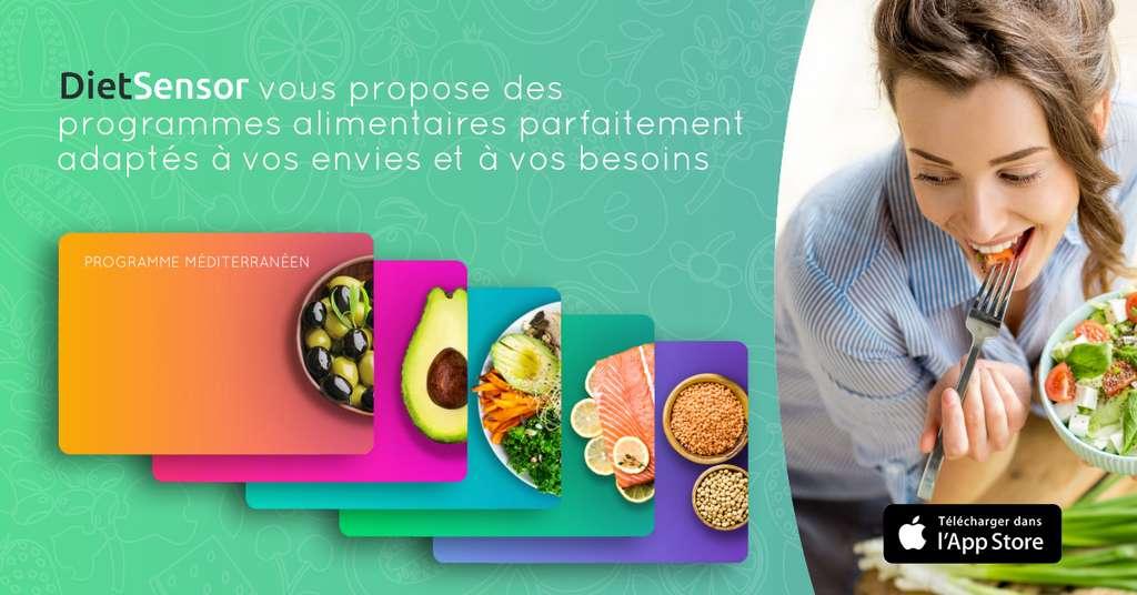 DietSensor vous aide à établir des menus personnalisés et à trouver les bons produits. © DietSensor
