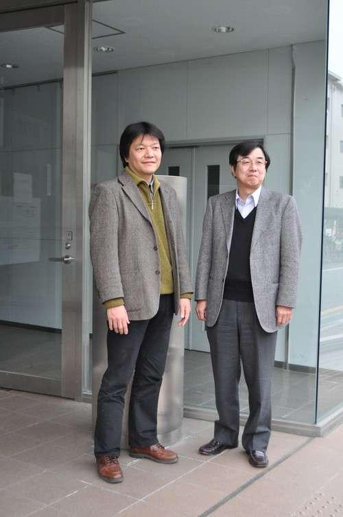 De gauche à droite Yuji Hasegawa et Masanao Ozawa. © Vienna University of Technology