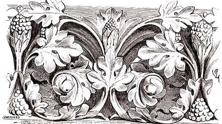 Sculpture, portail nord de la cathédrale de Troyes