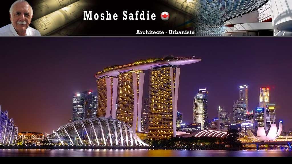 Le Marina Bay Sands à Singapour, par Moshe Safdie