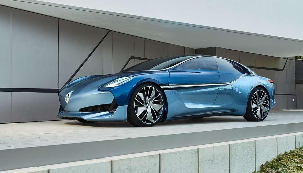 La Borgward Isabella Concept est un concept-car électrique de 300 chevaux avec 500 kilomètres d'autonomie. © Borgward