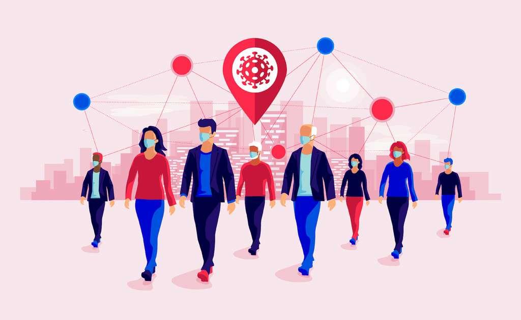 Les restaurants, les salles de sport, les cafés, les hôtels et les établissements religieux sont les lieux qui contribuent le plus fortement à la dynamique de la pandémie. © petovarga, Adobe Stock