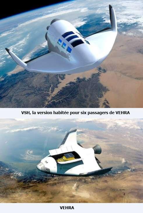 Pour développer le VSH, Dassault Aviation n'est pas parti de zéro. La société avait une « bonne base de travail en raison de ses activités antérieures dans les systèmes suborbitaux comme Vehra », un projet de véhicule hypersonique réutilisable aéroporté. © Dassault Aviation