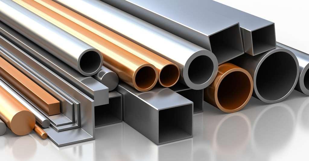 Quels sont les secrets de fabrication de l'acier ? Quels sont ses alliages ? Ici, des matériaux de construction en fer. © Inozemtsev Konstantin, Shutterstock