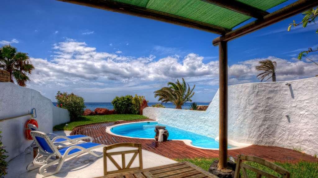 La villa de Lanzarote, aux Canaries