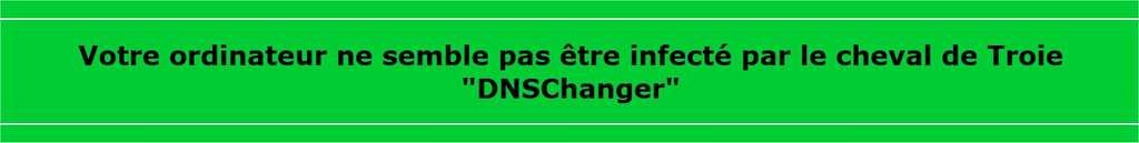 Des éditeurs de logiciels de protection (ici Lexsi) ont depuis longtemps proposé des tests en ligne pour vérifier la présence du cheval de Troie DNS Changer. © Lexsi