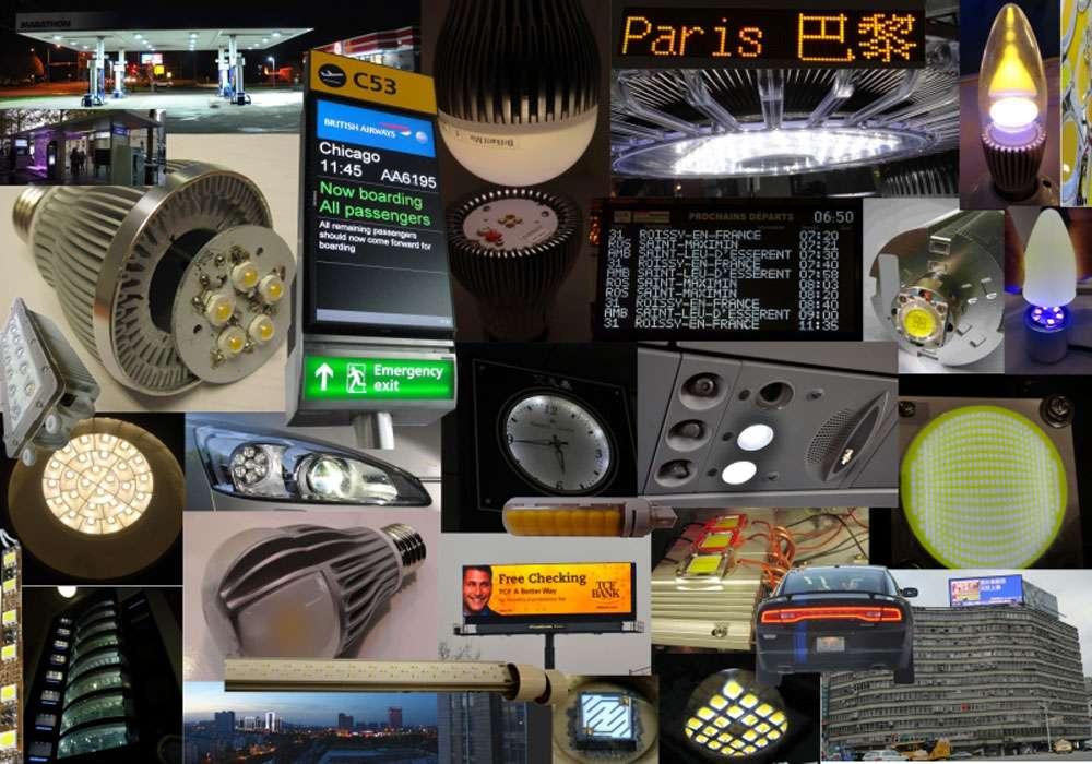Les applications qui utilisent les Led sont très nombreuses, de l'éclairage domestique aux feux de voiture. © Led Engineering Development