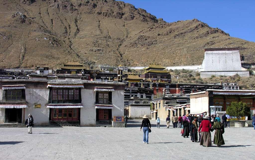 Shigatsé au Tibet. © Dennis Jarvis, Flickr