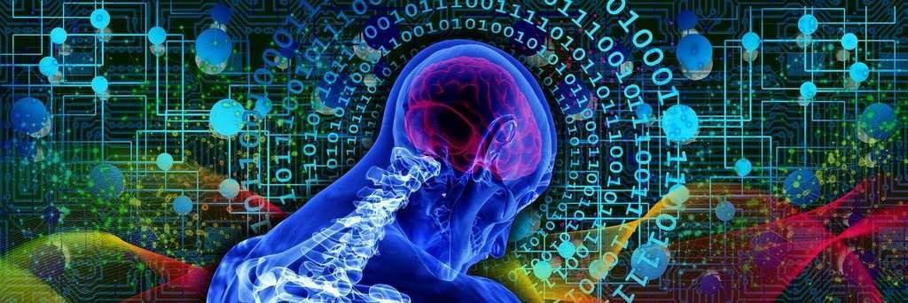 La pensée ne se situe ni dans les cerveaux ni dans les machines... © Geralt, Pixabay, DP