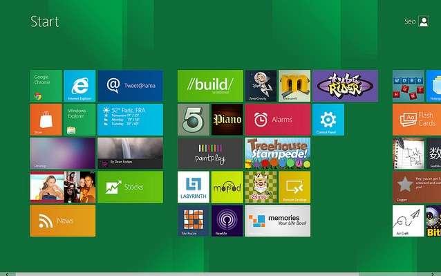 L'interface pour tablettes du prochain Windows (Windows 8) suit celle de Windows Phone 7. Elle cohabitera avec une interface plus classique sur PC. © Ceo1O17, Creative Commons