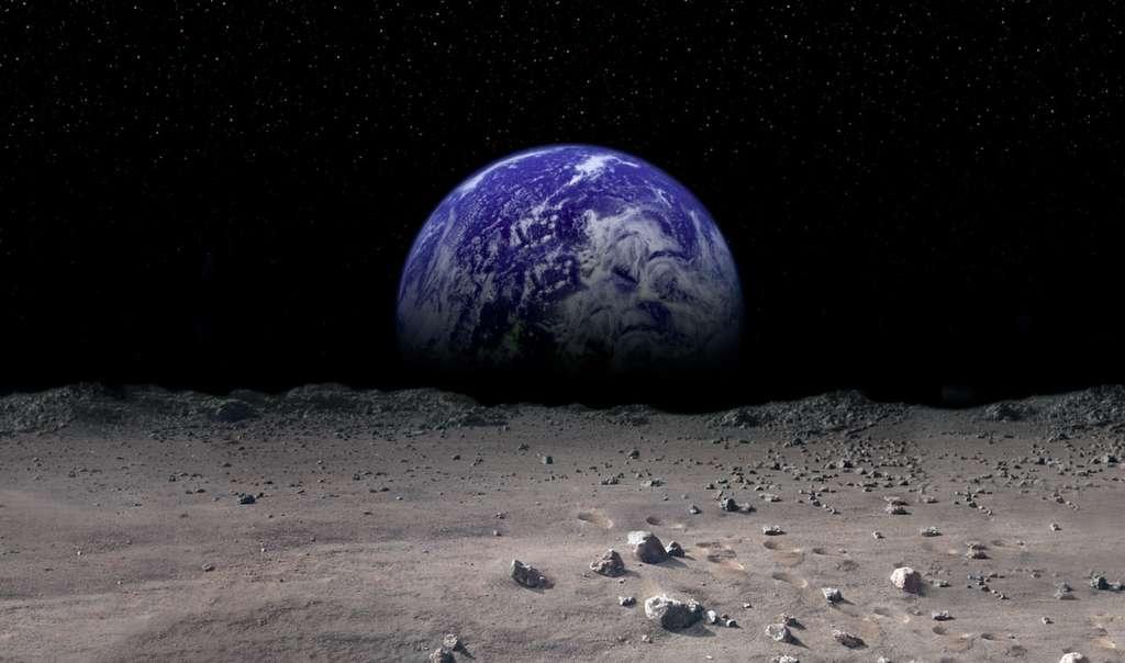 En 2017, la Lune verra atterrir plusieurs engins qui vont concourir pour les 30 millions de dollars de prix du Google X Prize. © Google Lunar X Prize
