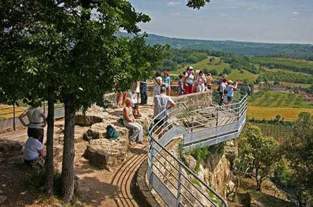 Le belvédère de la Dordogne. © Laugery, DR