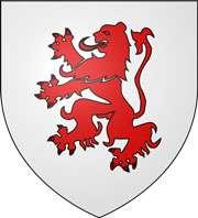Le blason du Gers est non officiel, car le département n'en revendique pas. Il est identique à celui de la commune d'Erquéry, dans l'Oise. © Syryatsu, Wikimedia Commons, DP