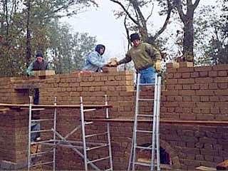 Mur de briques © BioHabitat