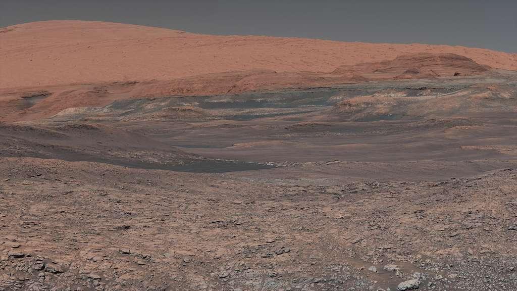 Le retour sur Terre d'échantillons martiens permettra pour la première fois d'étudier directement le sol martien dans les laboratoires terrestres. © Nasa, JPL-Caltech, MSSS
