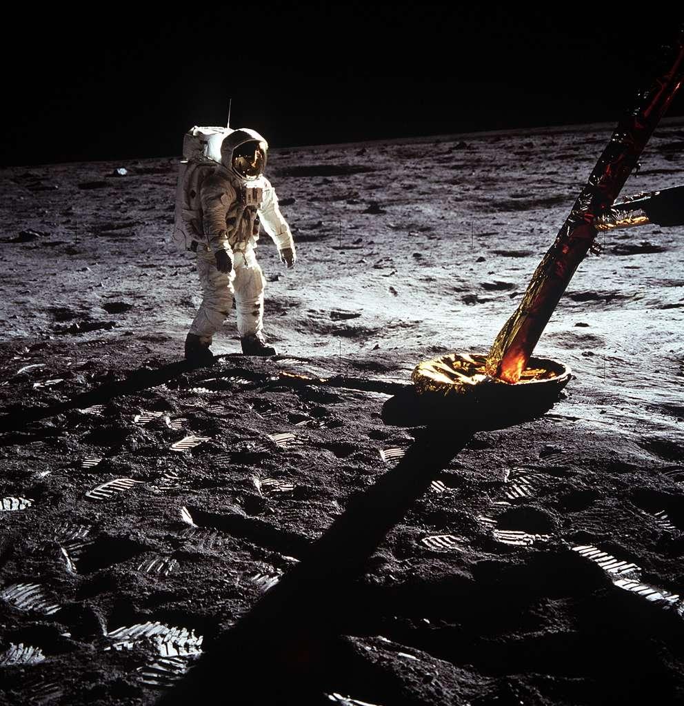 Buzz Aldrin prend la pause