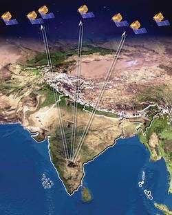 Les satellites de la constellation IRNSS seront lancés par l'Inde. Ce pays dispose en effet d'une flotte de lanceurs qui lui assurent un accès autonome à l'espace jusqu'à l'orbite de transfert géostationnaire (famille GSLV et PSLV). © Isro