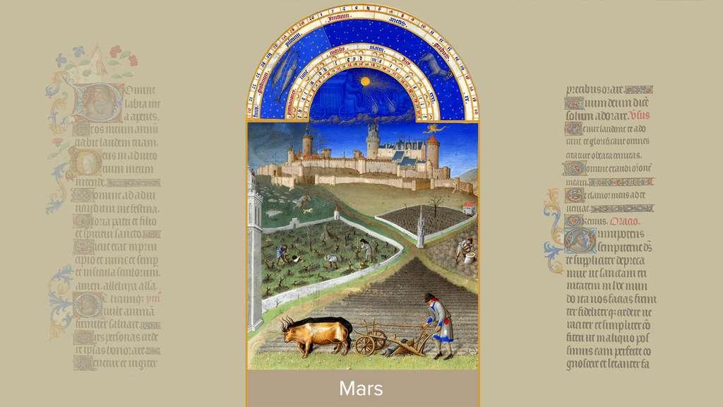 Mars : le château de Lusignan du duc de Berry